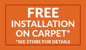 Finishing Touch Design Studio in Aberdeen, South Dakota - Free Installation on carpet - See store for details