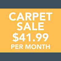 Carpet, Pad, & Installation for $41.99/mo at Finishing Touch Design Studio in Aberdeen SD