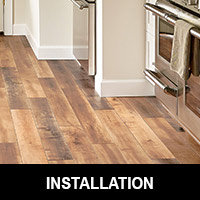 Our installation team is the finest in the area!  Finishing Touch Design Studio in Aberdeen offers expert installation of all of our flooring products.